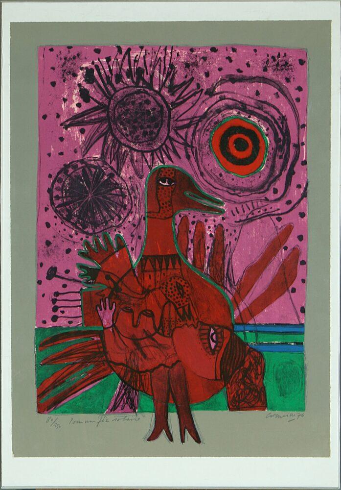 Farve litografi